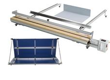 Оборудване за изработка на защитни прегради от плексиглас и поликарбонат