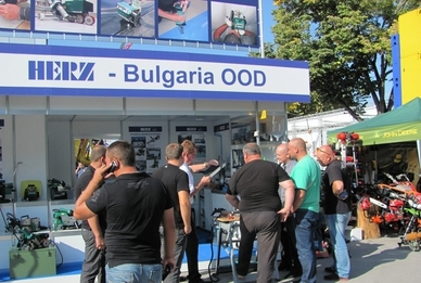 Херц-България ООД на Технически Панаир Пловдив 30.09.-05.10.2013