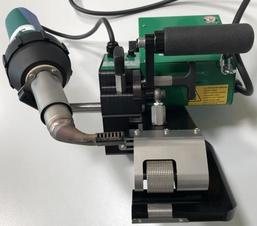 СтепОн - Заваръчен автомат с комбиниран клин и притискащи ролки за плосък и скатен покрив