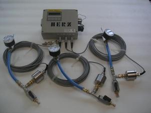 Измервателен уред за тестване с налягане и вакуум